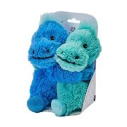 Warmies Cozy Plush Warm Hugs Dinosaur